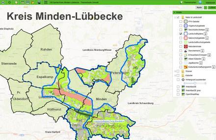 Grundwasserstand Karte Nrw.Grundwasser Kreis Minden Lübbecke