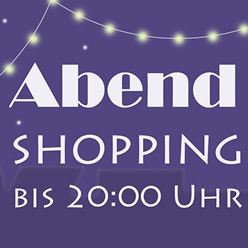 Abendshopping - Flyer